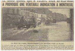 Photo de l'Almanach d'événement météo du 28/8/1925