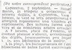 Photo de l'Almanach d'événement météo du 1/9/1934