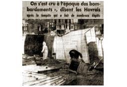Photo de l'Almanach d'événement météo du 9/10/1964