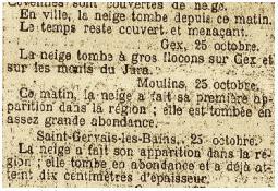 Photo de l'Almanach d'événement météo du 25/10/1908