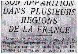 Photo de l'Almanach d'événement météo du 27/10/1933