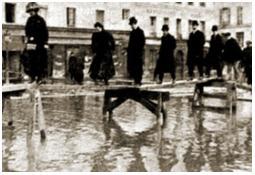Photo de l'Almanach d'événement météo du 21/1/1910