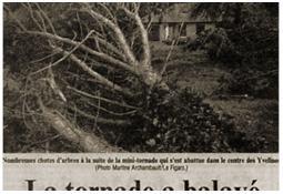 Photo de l'Almanach d'événement météo du 21/8/1991