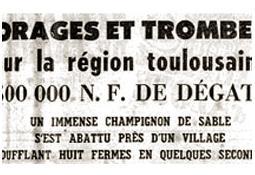 Photo de l'Almanach d'événement météo du 17/5/1960