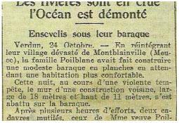 Photo de l'Almanach d'événement météo du 24/10/1923