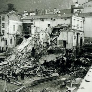 Aiguat d'octobre 1940 en temps de guerre
