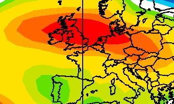 Récurrence anormale de l'anticyclone en France durant l'année 2020
