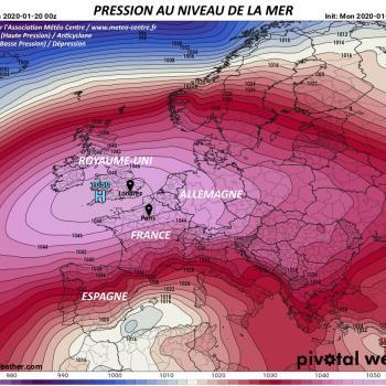 Des conditions anticycloniques à n'en plus finir en 2020