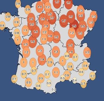 Automne 2020 en France : une douceur toujours omniprésente