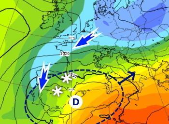 Début janvier hivernal sur France et l'Europe de l'Ouest : les explications
