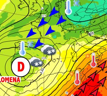 Filomena : entre tempête de neige en Espagne et chaleur record en Tunisie