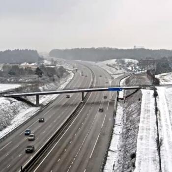 Episode de neige de redoux ce week-end sur le Nord du pays