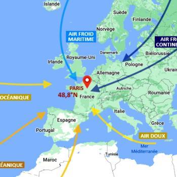 Pourquoi la douceur océanique finit-elle toujours par l'emporter en France ?