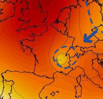 Goutte froide sur la France: un casse-tête pour la prévision