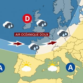 Pourquoi la France bascule subitement du flux continental au flux océanique ?