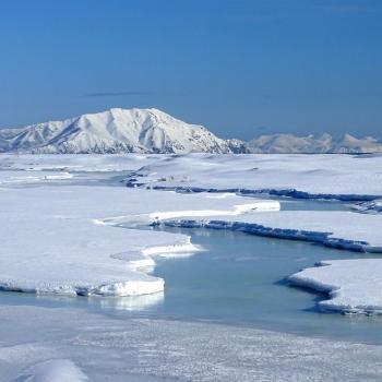 Extension de la banquise arctiquemi-mars 2021 : déficit relatif