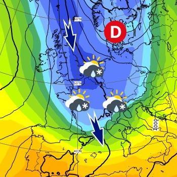Coulée d'air polaire et risque de neige en plaine après Pâques 2021