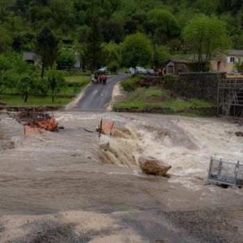 Pluies abondantes au sud-est le 10 mai 2021 : des records et des crues