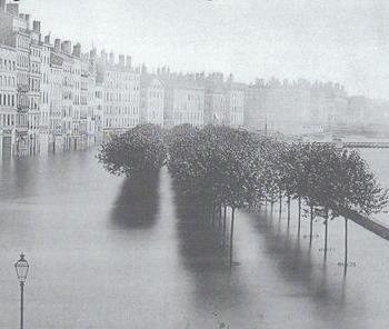 Crue du Rhône de 1856 : l'inondation dévastatrice