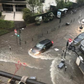 Violents orages sur l'île de France ce vendredi 4 juin 2021