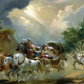 L'orage du 13 juillet 1788, à un an de la révolution française...