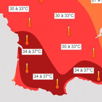 Fortes chaleurs en France avant le retour des orages dès le 23 juillet 2021