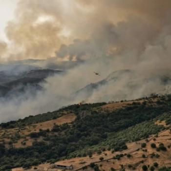 Fortes chaleurs en Corse et Italie, graves incendies en Sardaigne en cette fin juillet 2021