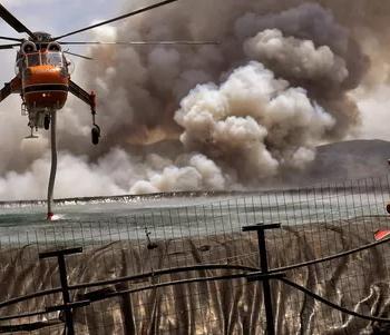 Fraîcheur en France mais canicule & incendies en Grèce et en Turquie