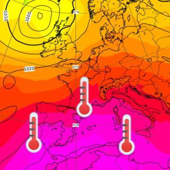 Épisode de fortes chaleurs et de canicule en France jusqu'au 15 août 2021