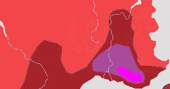 Chaleur et orages en France durant la semaine du 9 au 15 août 2021