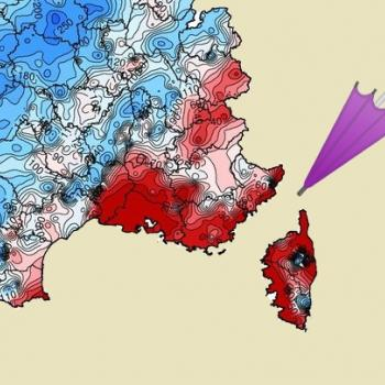 Été 2021 en France : un déficit de pluie important vers la Méditerranée