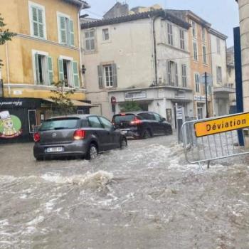 Violents orages en Provence le 24 août 2021 : grêle, pluies diluviennes & inondations