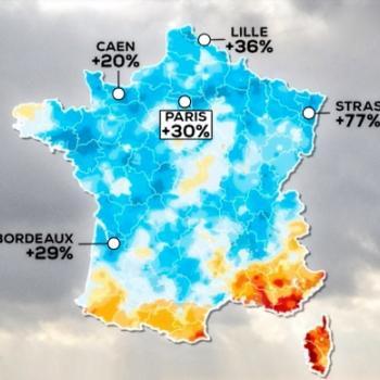 L'été 2021 fut le plus frais et humide en France depuis 2014, un bon point pour la sécheresse