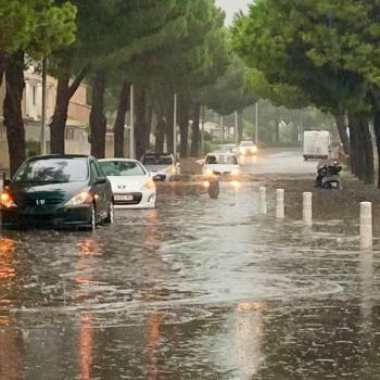 Orage diluvien et inondations sur Montpellier et l'Est de l'Hérault ce vendredi 3 septembre 2021