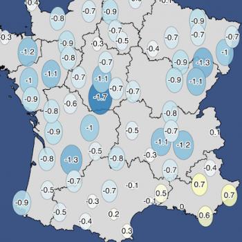 Bilan météo et climatique d'août 2021 : peu d'eau, mais pourtant bien gris et frais
