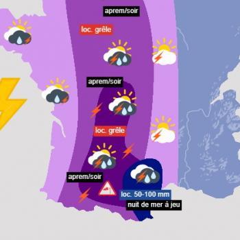 Après la chaleur, des orages parfois violents en France dès le mercredi 8 septembre 2021