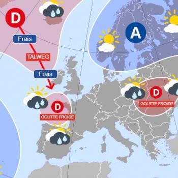 Gouttes froides : un casse-tête de plus en plus fréquent pour les prévisions météo ?