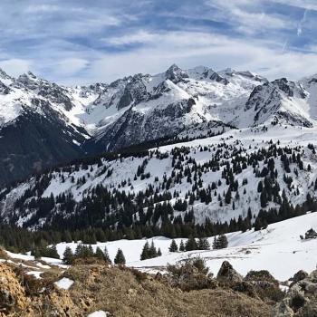 Arrivée de l'automne et de la neige sur les Alpes du Nord ce 19 septembre 2021