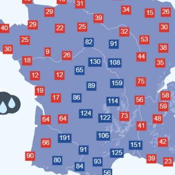 Orages et fortes pluies : un arrosage très inégal en France en septembre 2021