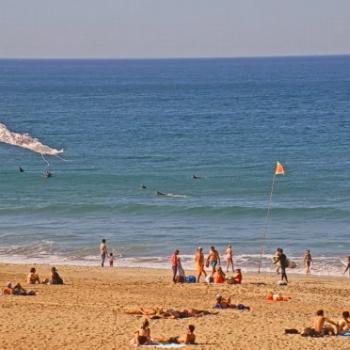 Masse d'air subtropicale et chaleur digne de l'été en France le mardi 19 octobre 2021