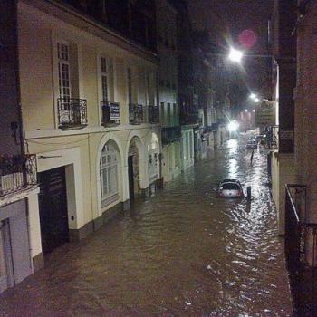 Torrent de boue à Dieppe - dimanche 23 septembre 2012 au soir