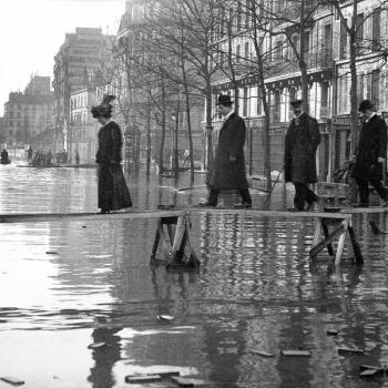 Crues majeures de la Seine au XXe siècle : retour en images