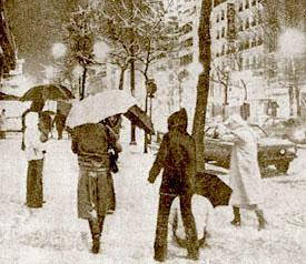 La vague de froid de la Saint Sylvestre 1978