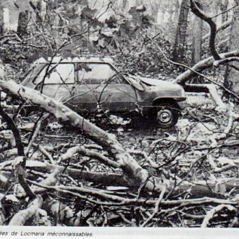 Retour sur la tempête exceptionnelle du 16 octobre 1987