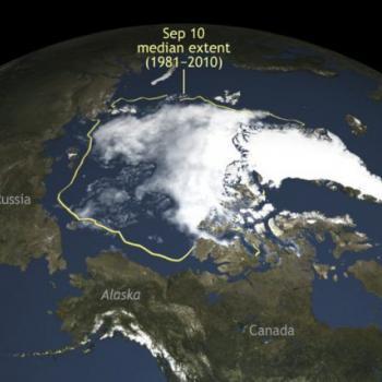 Un retrait exceptionnel de la banquise Arctique en 2016