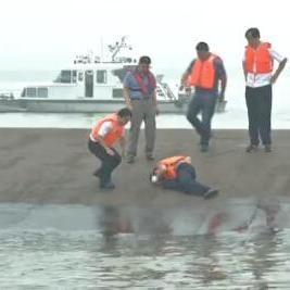 Tempête : naufrage d'un navire sur le Yangtsé en Chine
