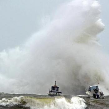 Tempête, forte houle et surcote sur le Nord-Ouest