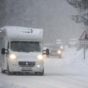 Isothermie et neige à très basse altitude sur les Alpes
