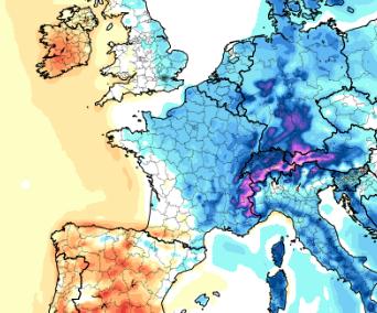 Plus froid et neige à basse altitude la semaine prochaine