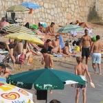 Plein été et grosse chaleur près de la Méditerranée